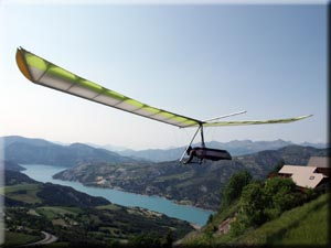 Hang-gliding in france